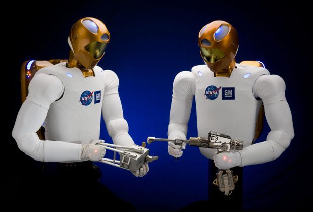 Robonaut-2 будет первым роботом, помещенным на борт космического корабля. Разработан General Motors для NASA Фото: Zumapress / Global Look