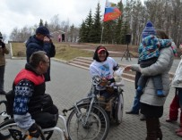 Житель Башкирии приехал в Севастополь на инвалидной коляске, чтобы увидеть парад Победы