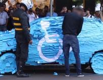 СтопХам по-бразильски: Что бывает, если парковаться на стоянке для инвалидов в Бразилии
