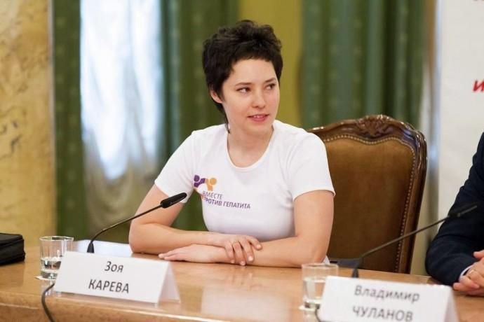 Зоя Карева, общественный деятель, Москва