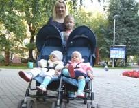 Алена и четверо детей