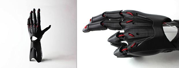 Напечатанная на 3D-принтере рука K-1. Изображение: enablingthefuture.org