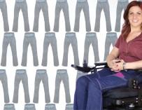 Американка разработала дизайн удобных функциональных джинсов для инвалидов — колясочников