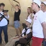 Инвалидная коляска – не помеха для рискованных путешествий