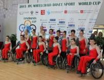 Танцоры на колясках открыли в Петербурге Кубок континентов