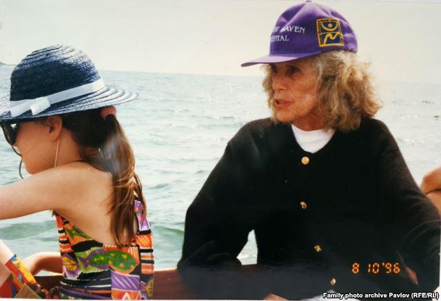 Юнис Шрайвер в России. 1996 год.