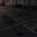 Парковка на 1-м Красногвардейском проезде