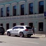 Парковка для инвалидов на Малой Дмитровке никогда не пустует