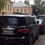 Инвалид припарковался на улице Малая Дмитровка