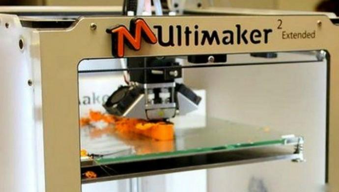 Разработчики использовали 3D-принтер, чтобы напечатать некоторые части механической руки (фото Open Bionics).
