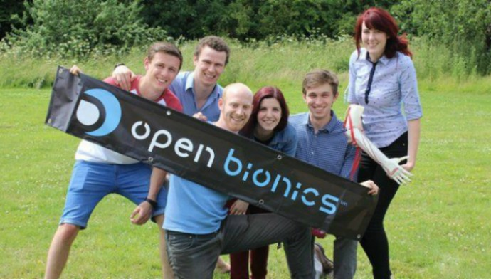 Open Bionics – компания робототехников из Великобритании (фото Open Bionics).
