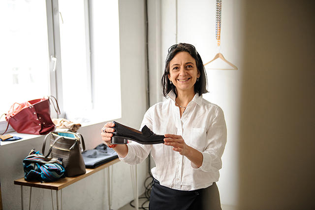 Янина Урусова, основатель проекта Bezgraniz Couture Фото: Денис Леонов / Mercedes-Benz Fashion Week Russia