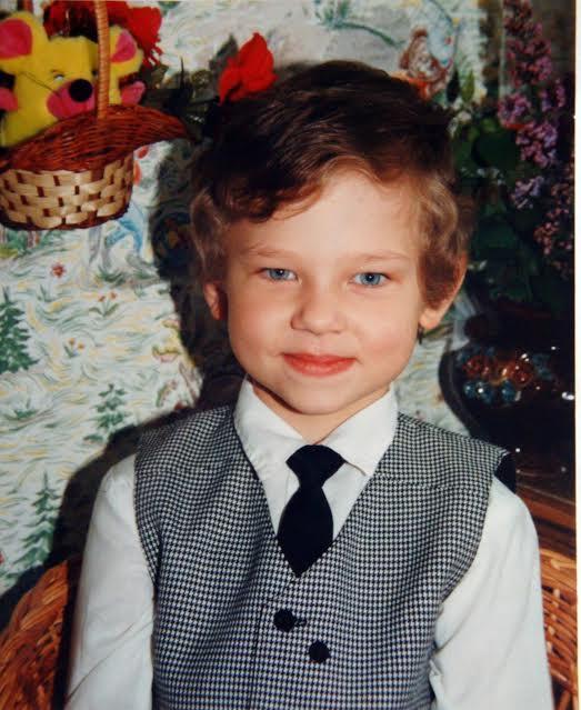 Александр Сидельников в детстве