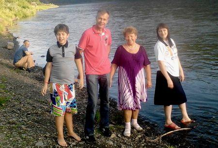 Анатолий Гох и его семья