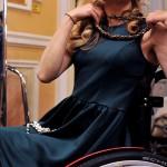 «Такая красивая — и на коляске»