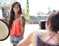 Родившаяся без ног жительница США рассказала о своей модельной карьере