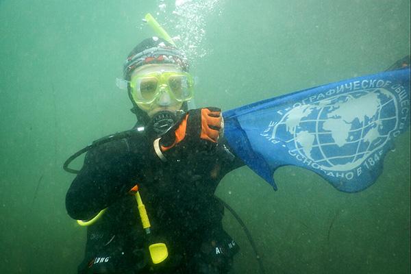 Парапутешественник погрузился на дно Японского моря. Фото: skr.su