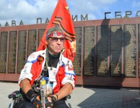 Инвалид-колясочник проехал автостопом из Ростова-на-Дону до Сахалина