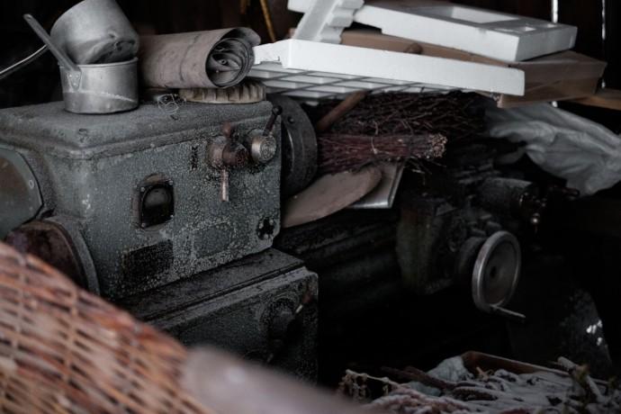 Станок, который приобрел Леонид, что бы начать производство своего двигателя.