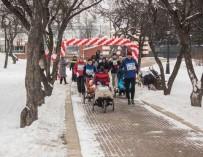 «Все бегут». В Минске любители бега и дети с инвалидностью преодолели 4 км
