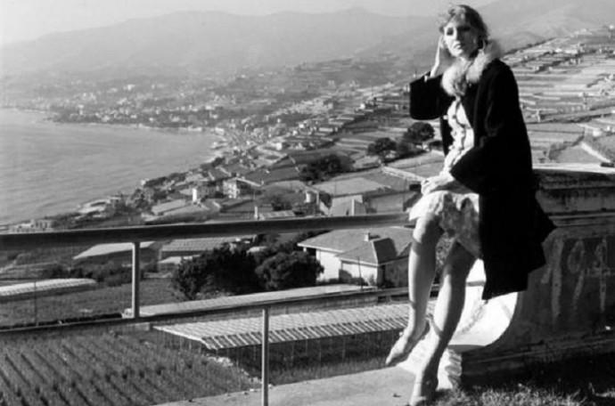Анна Герман в Италии.