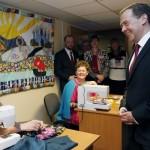 Дмитрий Медведев осмотрел Центр социальной реабилитации инвалидов в Пушкине