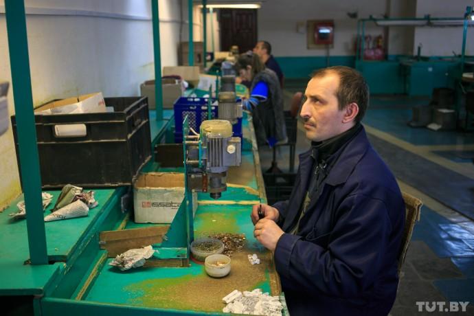 Александр Юранов на своем рабочем месте.