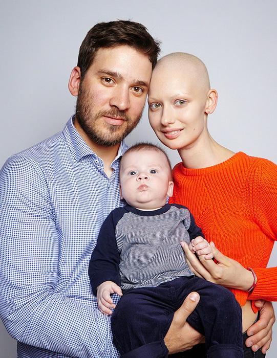 Елизавета с сыном и мужем. Счастливая семья