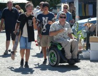 Создан новейший тип инвалидного кресла
