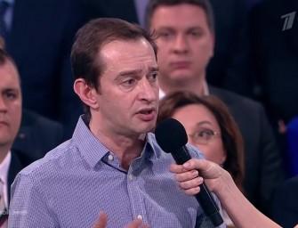 Константин Хабенский попросил Владимира Путина о помощи