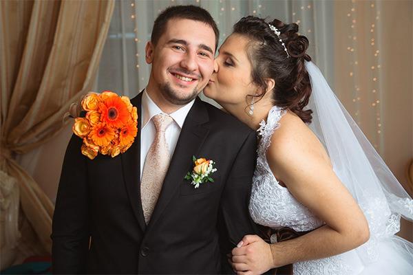 Роман Егоров с женой Элей. Фото из личного архива