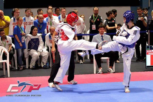 Сакинат — чемпионка мира по паратхэквондо