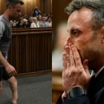 Подсудимого паралимпийца Оскара Писториуса заставили ходить без протезов в суде