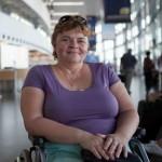 «Завтра будет новый день!» История волонтера, которая подорвалась на мине и осталась без ног