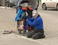 В Красноярске разбивший бордюр инвалид-колясочник объявил голодовку