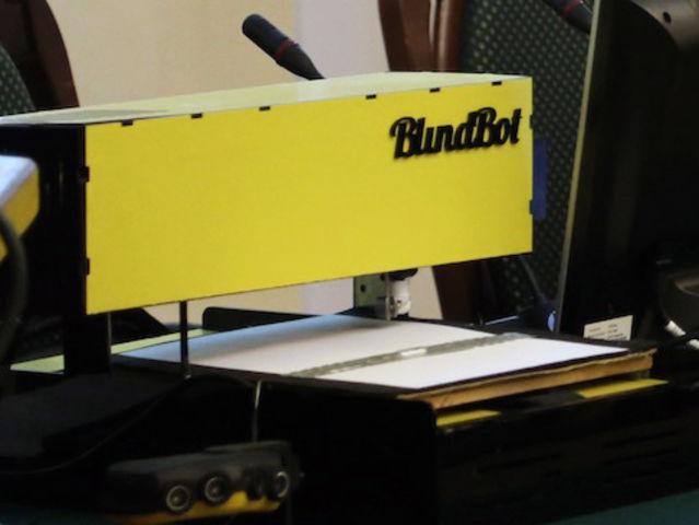 Принтер Брайля BlindBot