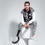 Манекенщица Джесси Куинн покорила модный бизнес с одной ногой