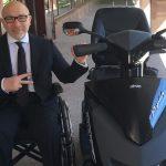 Мэр Харькова пересел на скутер