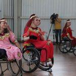 «Узоры Индии» в исполнении одного из ансамблей школы танцев «Дар».
