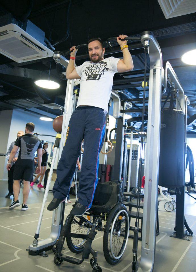 """© Фото: фонд """"Сила духа Фитнес для людей с инвалидностью"""