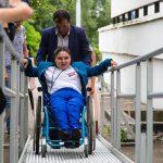Пригодны ли вузы Москвы для инвалидов: фоторепортаж