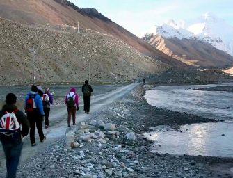 Группа детей‑инвалидов совершила восхождение на Эверест