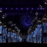 Огонь Паралимпиады-2016 был потушен в ходе церемония закрытия Игр в Рио-де-Жанейро