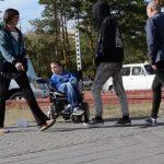 Необычный социальный эксперимент над павлодарцами провёл инвалид-колясочник