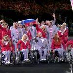 Белорусская делегация на открытии турнира в Бразилии пронесла российский триколор