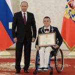 Владимир Путин принял в Кремле членов паралимпийской сборной России по летним видам спорта.