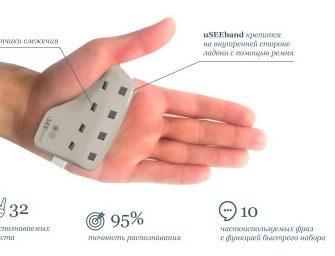 В России создан электронный браслет для перевода жестового языка в текст