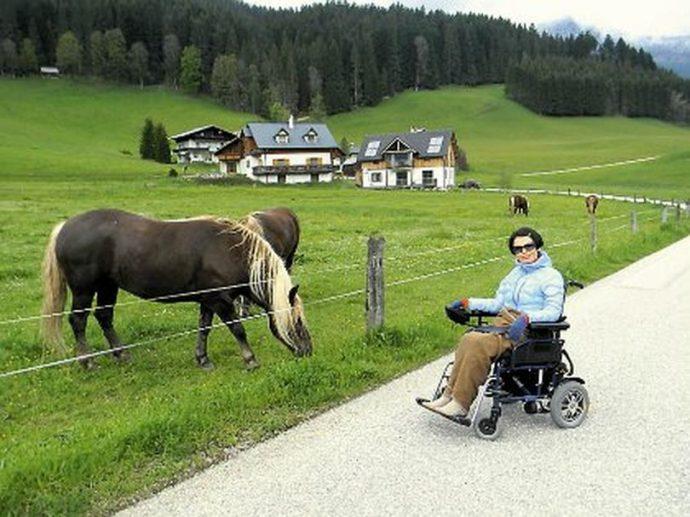 Маршруты бывают самые дальние: этот проходит по Австрии Фото: личный архив Игоря Гакова