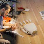 Белорусский программист создал для своего отца электромеханический протез руки
