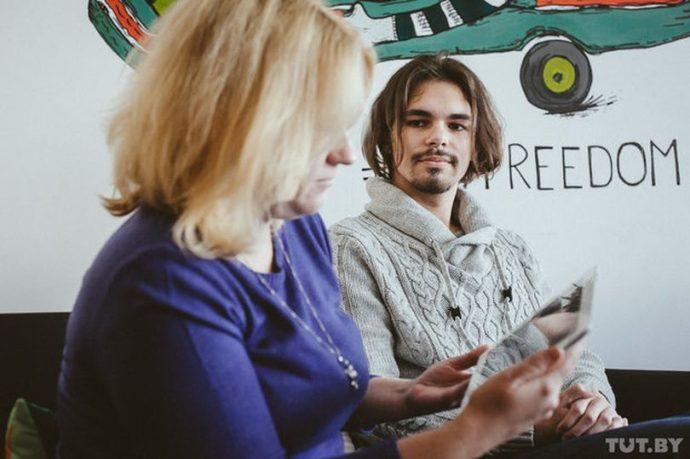 Максим и его преподаватель Светлана